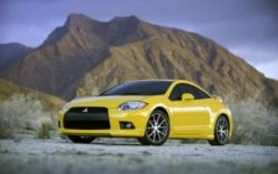 Новый Mitsubishi Eclipse coupe и convertible дебютируют на автошоу в Детойте