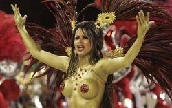 Красотки бразильского карнавала (фото)