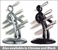 Идеи для дома: подставка для ножей из черной комедии (фото)