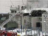 На немецкой АЭС произошел пожар