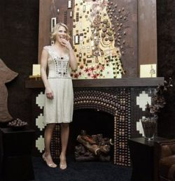 На Манхэттене создали шоколадную комнату (фото)