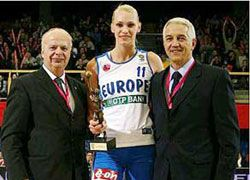 Лучшая баскетболистка России-2007 Мария Степанова остается в составе ЦСКА