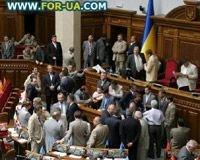 В украинской Раде начинаются драки