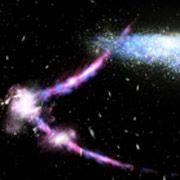 Магеллановы облака проткнули Галактику пальцем