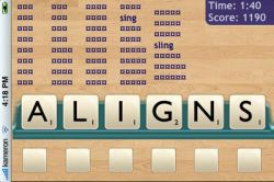 Text Twist - игра наподобие Эрудита для iPhone