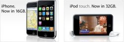 Apple выпустила iPhone 16 GB и iPod touch 32 GB