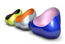 Разноцветные кресла от Карима Рашида (Karim Rashid)
