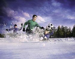 Команда Hakkapeliitta Team отправляется на Международный чемпионат по снежному футболу