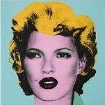 Портрет Кейт Мосс работы Бэнкси продан на аукционе за 190 тысяч долларов