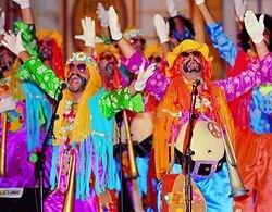 """В Мадриде проходит карнавал - \""""похороны\"""" сардинки"""