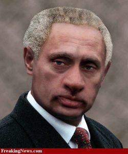 Владимир Путин стал афроамериканцем? (фото)