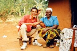 Фотографии из семейного альбома Барака Обамы (Barack Obama) (фото)