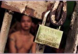 Детская тюрьма в Маниле (фото)