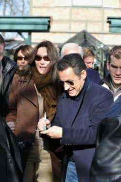 Николя Саркози пытался вернуть бывшую жену за несколько дней до свадьбы с Карлой Бруни