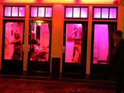 Жители Амстердама вышли на марш против закрытия борделей