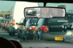 Зеркало заднего вида со встроенной камерой и LCD-дисплеем (видео)