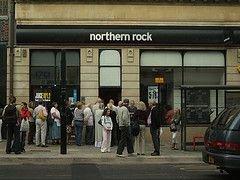 Правительство Британии взяло на себя долги банка Northern Rock