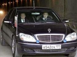Владимир Путин и Виктор Зубков нарушили ПДД