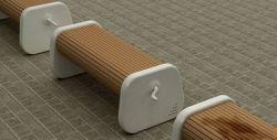 Корейские дизайнеры объявили войну мокрым скамейкам