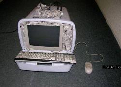 Трэш-моддинг для старого компьютера (фото)