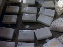 У побережья Гвинеи задержано греческое торговое судно с 3,2 тоннами кокаина