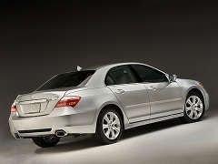 Марка Acura обновляет флагманский седан RL