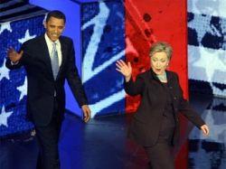 По итогам супервторника Барак Обама опередил Хиллари Kлинтон на два голоса