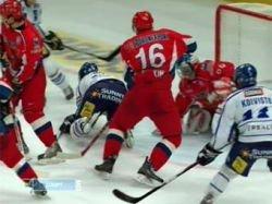 Сборная России разгромила Финляндию на Шведских хоккейных играх
