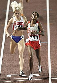 Россиянка Елена Соболева установила мировой рекорд в беге на 1500 метров