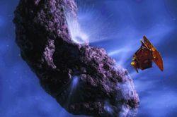 Аппарат Deep Impact начал поиски внеземной жизни