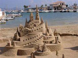 Ученые определили формулу идеальных песчаных замков