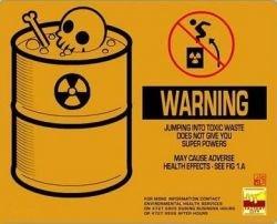 Креативные предупреждающие знаки (фото)