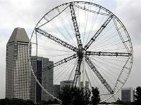 В Сингапуре заработало самое большое в мире колесо обозрения