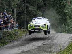 Ford Focus WRC Аль-Кассими прыгнул дальше всех на Ралли Швеции