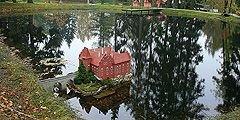 Парк миниатюр - популярная достопримечательность чешского курорта