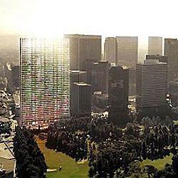 В Лос-Анджелесе построят уникальную стеклянную башню стоимостью в $400 миллионов