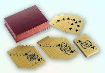 Карты из золота - эксклюзив для азартных игроков