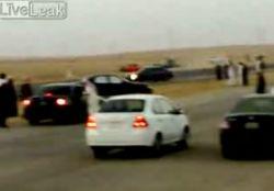 Невероятные кадры из Саудовской Аравии (видео)
