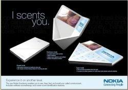 Nokia Scentsory - мобильник, который может нюхать и передавать запахи