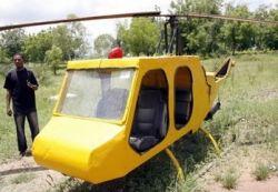 Как собрать вертолет из обломков Боинга и автомобильных запчастей