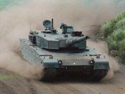 В Японии представлен прототип компьютеризированного танка