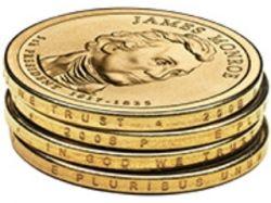 В США вводится в обращение новая монета достоинством один доллар