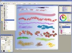 Artweaver — бесплатный графический редактор