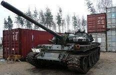 Рижанин продает танк в Интернете