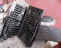 Клавиатура Silver Seal: свернется в трубочку и не утонет