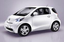 Новая микролитражка и кроссовер Toyota iQ дебютируют в Женеве