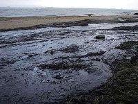 В Керченском проливе обнаружено крупное нефтяное пятно