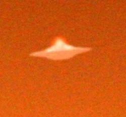 Над городом Портсмут пронеслась летающая тарелка (фото)