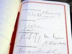 Франция официально приняла Конституционный договор Евросоюза