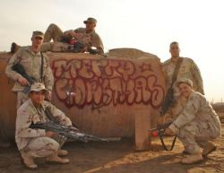 Граффити американских солдат в Ираке (фото)